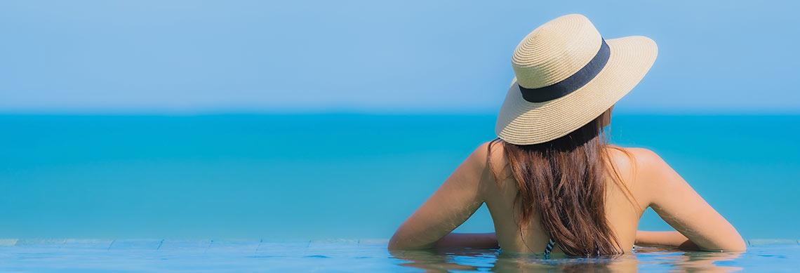 Como cuidar dos cabelos no calor?